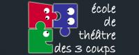 logotype de l'école de théâtre des coups de Pessac